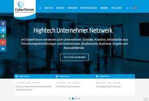 Startseite von cyberforum.de